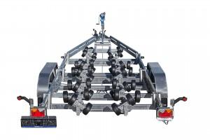 BP3500-DRB Multiruller [Bildene er illustrerende, og tilhengere kan inneholde ekstra utstyr]