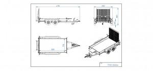 TP300-DLB AL [Bildene er illustrerende, og tilhengere kan inneholde ekstra utstyr]