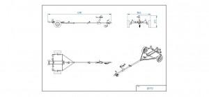 BB750-R Opplagshenger  [Bildene er illustrerende, og tilhengere kan inneholde ekstra utstyr]