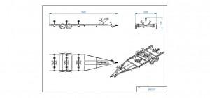 BB3500-R Opplagshenger Bestillingsvare [Bildene er illustrerende, og tilhengere kan inneholde ekstra utstyr]