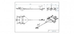 BS1250-RB [Bildene er illustrerende, og tilhengere kan inneholde ekstra utstyr]