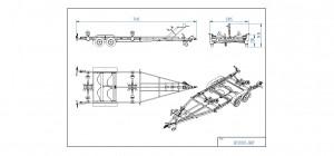 BP2000-DRB   [Bildene er illustrerende, og tilhengere kan inneholde ekstra utstyr]