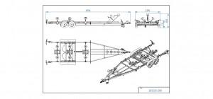 BP3500-DRB   [Bildene er illustrerende, og tilhengere kan inneholde ekstra utstyr]