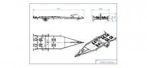 BP1800-LB Multiroller [Bildene er illustrerende, og tilhengere kan inneholde ekstra utstyr]